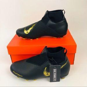 Nike Jr Phantom VSN Academy Black Soccer Cleat 6Y